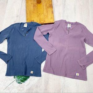 Carhartt Thermal Half Button Bundle Set Shirt 1866